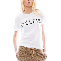 Sincerely, Jules Celfie T Shirt in White