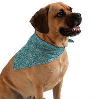 Heather Dutton Bursting Bloom Peacock Pet Bandana