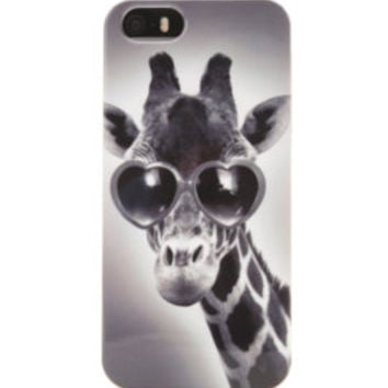 With Love From CA Heart Giraffe iPhone 5 Case at PacSun.com