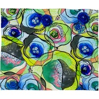 CayenaBlanca Molecular Tension Fleece Throw Blanket