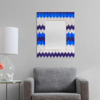 Holli Zollinger Chevron Kilim Rectangular Mirror