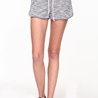 NETTED KNIT RUNNING SHORTS