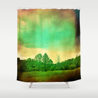 Illusion Shower Curtain by Yoshigirl
