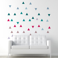 I liked this design on #Fab. Triangles Decal