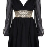 Empress Sparkler Dress #lbd #tribal #sparkle #embellishment #want #need #wish #cute