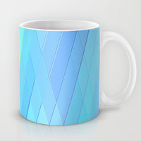 Re-Created Vertices No. 19 Mug by Robert S. Lee