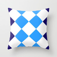 ARRRRRgyle Throw Pillow by Pop E. Carp