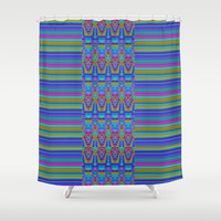 Fantallas Shower Curtain by Nina May