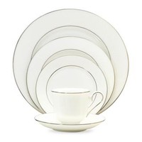 Lenox 'Hannah Platinum' 20-piece Dinnerware Set