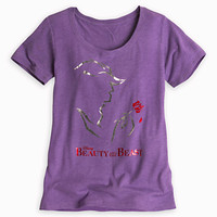 Beauty and the Beast: The Broadway Musical Tee for Women
