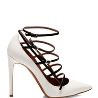 Josephina High 100Mm Heel Pump With Ankle Strap Detailing by Tabitha Simmons - Moda Operandi