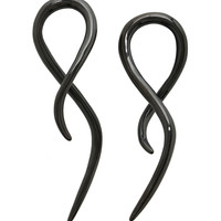 Steel Black Squid Swirl Pincher 2 Pack