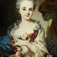Jeanne-Antoinette Poisson, Madame De Pompadour, Mistress of Louis Xv Giclee Print at Art.com