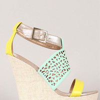 Absolutely a Must Wedge - Mint - Hazel & Olive