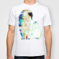 Remix Emperor Penguins T-shirt by Ben Geiger