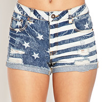 Stars & Stripes Denim Shorts
