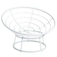Papasan Outdoor Chair Frame - White