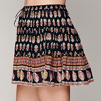Free People 3 Tier Printed Half Slip