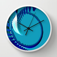 Curveball Wall Clock by Eric Rasmussen