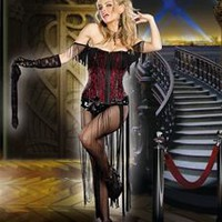 Burlesque Beauty Adult Women Costume
