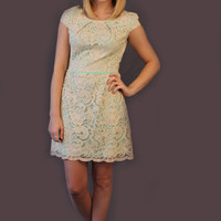 Understated Elegance Dress - Mint - Hazel & Olive