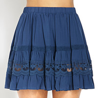 Ruffle Tiered Peasant Skirt