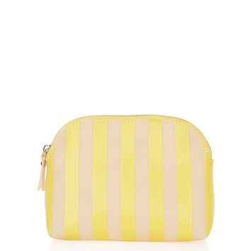 Stripe Jelly Make Up Bag
