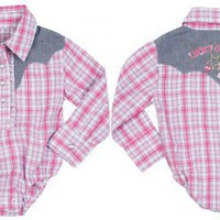 Wrangler Lucky Cowgirl Onesuit for Infants