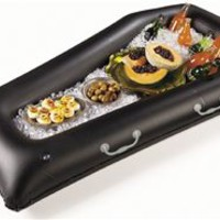 Halloween Inflatable Coffin Buffet