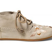 TOMS+ Bone Arrows Suede Women's Tribal Boots