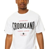 The Crookland Tee in White