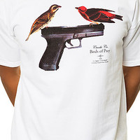 The 9MM Birds Of Prey Tee in White