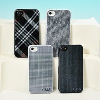 Menswear Personalized iPhone Cases