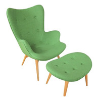 Paddington Deux Lounge Set in Green