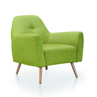 Settle Armchair in Green
