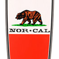 Nor Cal Republic Drop Through 37.8 Cruiser Longboard Complete