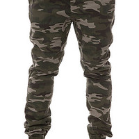 The Outpost Jogger Pants in Camo