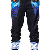 The Smoke N Feathers Sweatpants in Black