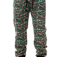 The Jekyll and Hide Sweatpants in Camo