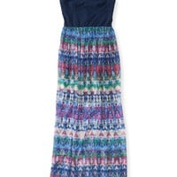 Woven Skirt Maxi Dress