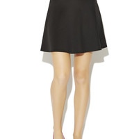 Scuba Skater Skirt | Wet Seal
