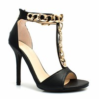 Fresh Chain-ge Single-Sole Heels - GoJane.com