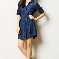 Broadcast Chambray Shirtdress