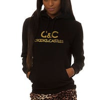 The Regal Pullover Hooded Sweatshirt in Black