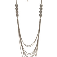 Exotic Chain and Arrow Necklace