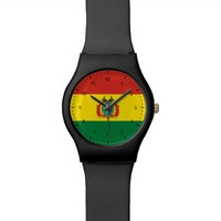 Bolivian flag watch