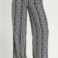 Girl On the Go Black & White Palazzo Pants