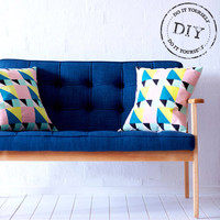 Urban Crafter Geometric Cushions DIY Kit