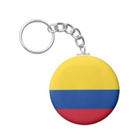 Colombian flag Button