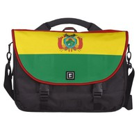 Bolivian flag Laptop Bag